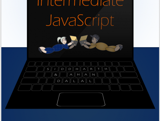 Designing a Cover for Intermediate JavaScript